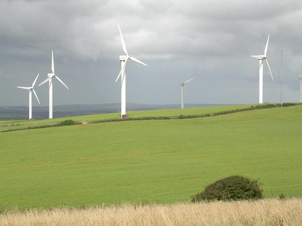 Onshore windfarms